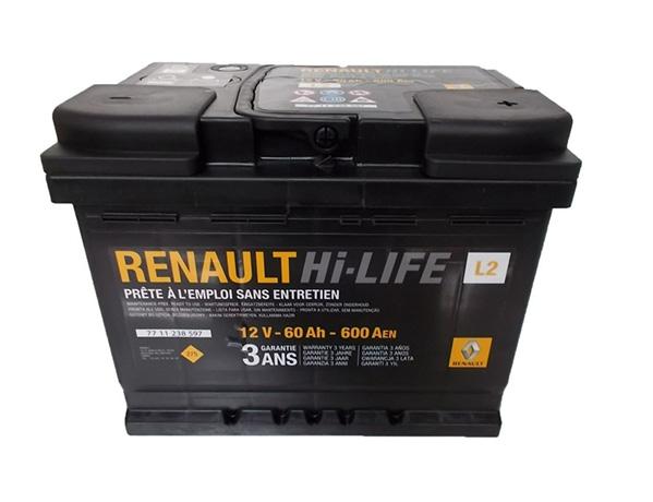 Аккумуляторная батарея (АКБ) для Рено